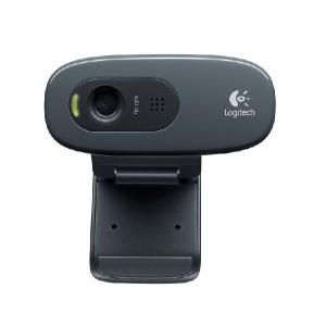 Webcam Logitech C270 HD com Microfone