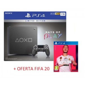 Consola Sony PS4 PlayStation 4 1TB Days of Play 2019 Limited Edition