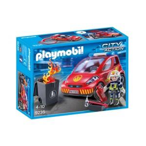 Playmobil City Action: Carro de Bombeiros