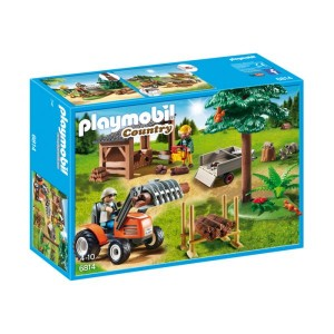 Playmobil Country: Lenhador com Trator