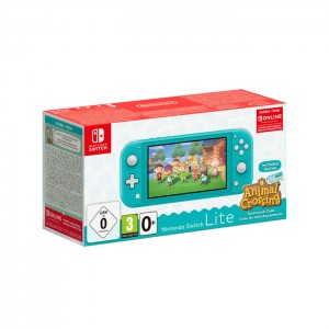 Consola Nintendo Switch Lite Turquesa + Animal Crossing: New Horizons