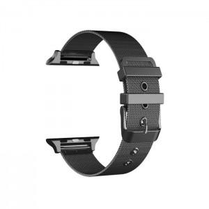 Bracelete COOL para Apple Watch Series 1/2/3/4/5/6 (38 / 40mm) Metal Preto