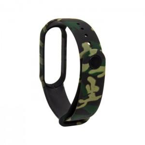 Bracelete COOL para Xiaomi Mi Band 5 / Mi Band 6 / Amazfit Band 5 Military Print