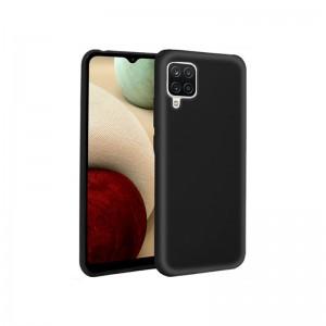 Capa de Silicone Samsung Galaxy A12 / M12 Preta