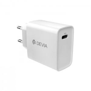 DEVIA Adaptador de Corrente USB-C 20W