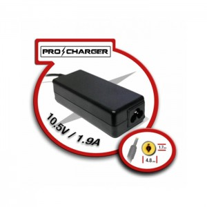 Carregador Portátil Sony Compatível Pro Charger Ponta Amarela