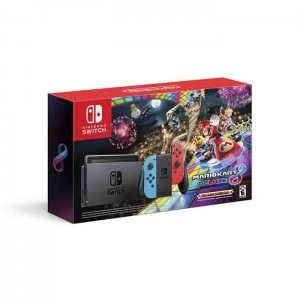 Consola Nintendo Switch V2 Neón Blue/Red + Mario Kart 8 Deluxe
