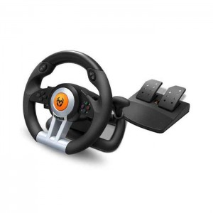 Nox Krom K-Wheel Volante + Pedais PS4/PS3/Xbox One