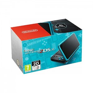 Consola Nintendo New 2DS XL Black/Turquoise