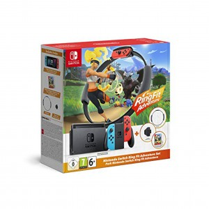 Consola Nintendo Switch + Ring Fit Adventure Pack