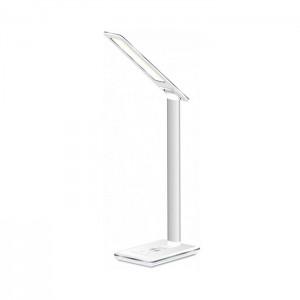 Lâmpada LED Evelatus com carregador wireless incorporado