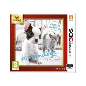 Nintendogs plus Cats French Bulldog 3DS