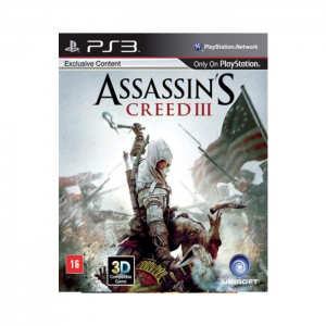 Assassin's Creed III PS3 Usado