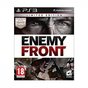 Enemy Front Limited Edition Usado PS3