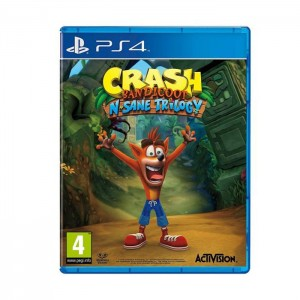 Jogo Crash Bandicoot: N. Sane Trilogy PS4