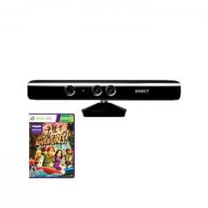 Sensor Kinect + Kinect Adventures! Xbox 360