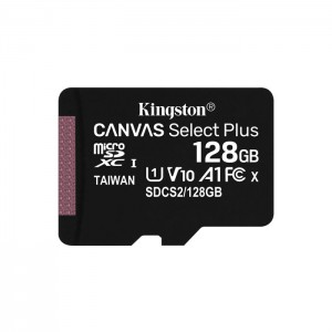 Micro SDXC 128GB Kingston Canvas Select Plus