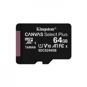 Micro SDXC 64GB Kingston Canvas Select Plus