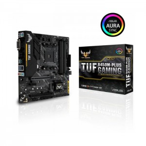 Motherboard Asus TUF B450M-Plus Gaming Skt Am4