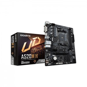 Motherboard Micro-ATX Gigabyte A520M H
