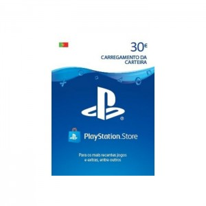 Cartão de Carregamento PSN 30€ PlayStation Store (Formato Digital)