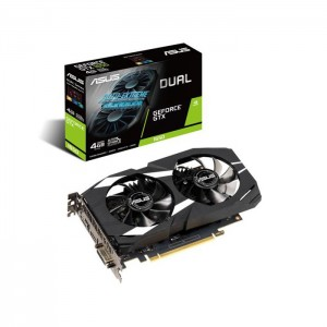 Placa Gráfica Asus GeForce GTX 1650 Dual 4GB GDDR5