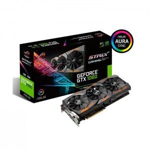 Placa Gráfica Asus GeForce GTX1060 ROG Strix OC 6GB GDDR5