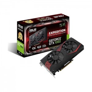 Placa Gráfica Asus GeForce GTX1060 Expedition OC 6GB GDDR5 (PCI-E)