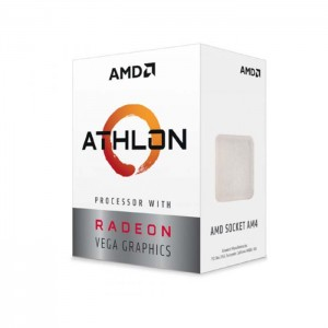 AMD Athlon 200GE Dual-Core 3.2GHz 5MB SktAM4