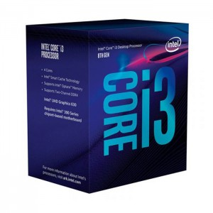 Intel Core i3-8100 3.6GHz 6MB Skt1151