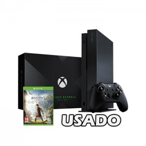Consola Xbox One X Project Scorpio Edition 1TB + Assassin's Creed Odyssey USADO