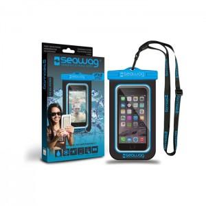 Bolsa Impermeável SEAWAG para Smartphone Preto / Azul