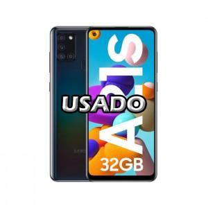 Smartphone Samsung Galaxy A21S Dual SIM 3GB/32GB Black USADO