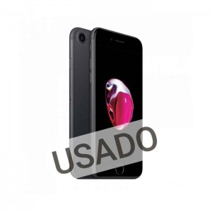Apple iPhone 7 32GB Mate Black Grade A- Usado 20 Meses de Garantia
