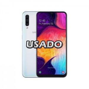 Smartphone Samsung Galaxy A50 4GB/128GB White USADO