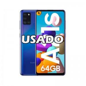 Smartphone Samsung Galaxy A21S 4GB/64GB Blue USADO