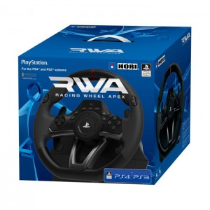 Volante Hori Apex Racing Wheel para PS3/PS4/PC