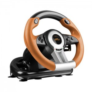 Volante Speed-Link DRIFT O.Z. Racing Wheel PC Black Orange