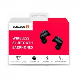 Auriculares Wireless Evelatus EBE01 Preto