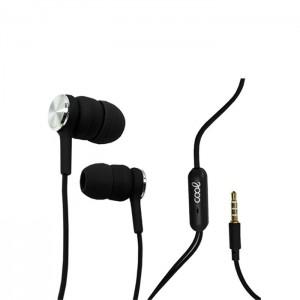 Auriculares COOL com Microfone Black