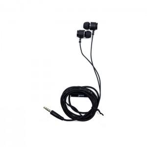 Auriculares 3,5 Mm COOL Metalizado Com Microfone Black