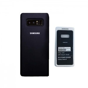 Capa Samsung Galaxy Note 8 Silicone Cover Preta