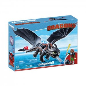 Playmobil Dragons: Hiccup e Desdentado