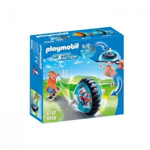 Playmobil Sports & Action - Speed Roller Azul