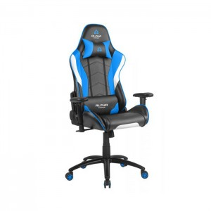 Cadeira Gaming Alpha Gamer Delta Black/White/Blue