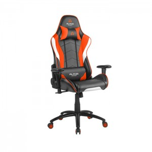 Cadeira Gaming Alpha Gamer Delta Black/White/Orange