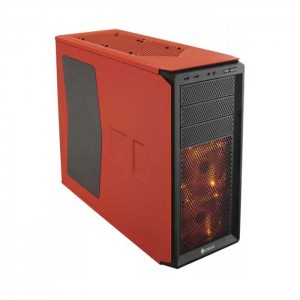 Caixa Corsair Graphite 230T Window Rebel Orange