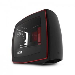 Caixa Mini ITX NZXT Manta Black/red Window