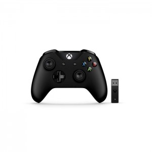 Microsoft Gamepad Controller Black Xbox One + Wireless