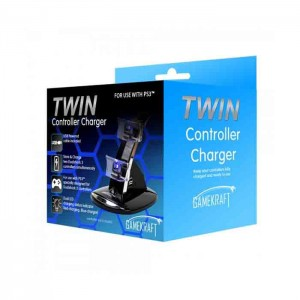 Gamekraft Twin Charging Dock PS3